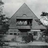 Frank Lloyd Wright Home Oak Park Il Ca 1890 Collection Of The