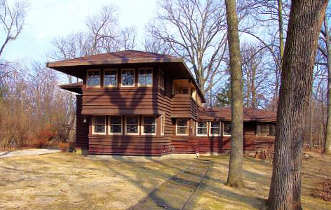 George Madison and Alice Millard House Frank Lloyd Wright Trust