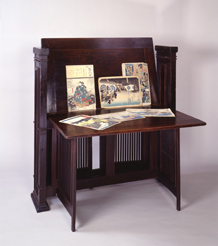 Print Stand Designed By Frank Lloyd Wright Ca 1902 Collection Of The