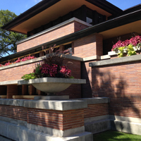 Robie House plantings