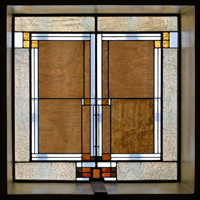 skylight panel detail unity temple photograph by james caulfield
