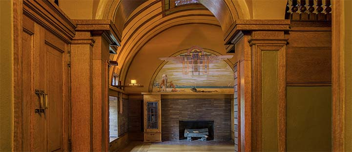 Frank Lloyd Wright Home and Studio Playroom Entrance