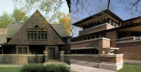 Wright Home and Studio and Robie House