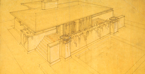 Bruce Goff rendering
