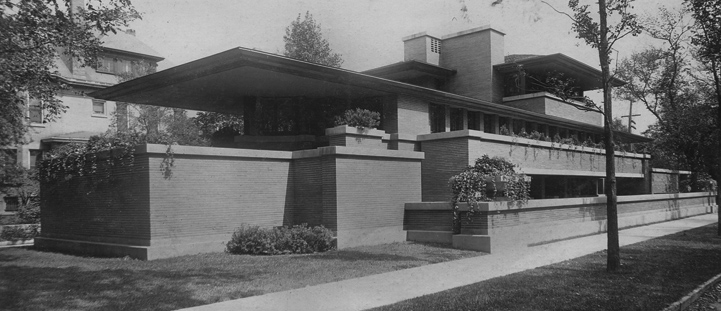 The prairie style frank lloyd wright trust for Frank lloyd wright prairie house plans