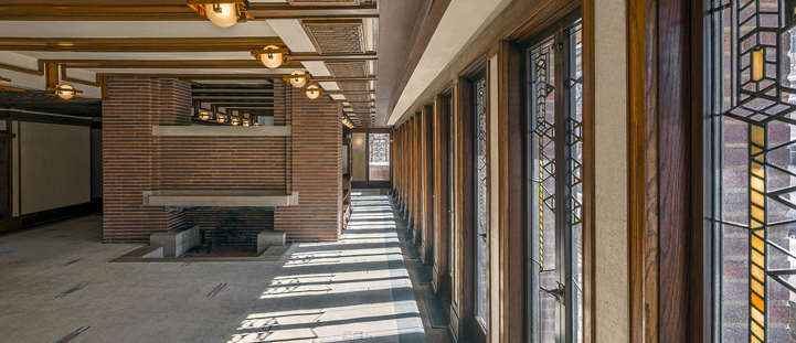Robie House Interior