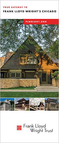 Frank Lloyd Wright Chicago Map.Visit Wright S Historic Sites Across Chicago Frank Lloyd Wright Trust