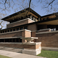 Frank Lloyd Wrights House Visit Wright's Historic Sites Across Chicago  Frank Lloyd Wright .